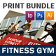 Fitness Gym Print Bundle - GraphicRiver Item for Sale