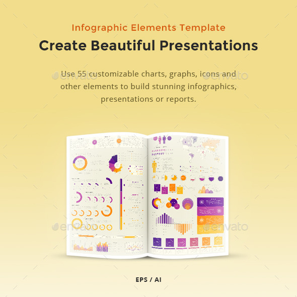 GraphicRiver Infographic Elements Template Vector Pack 11735971