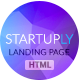 Startuply — Responsive Multi-Purpose Landing Page - ThemeForest Item for Sale