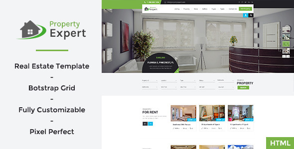 ThemeForest Property Expert Real Estate HTML Template 11672142