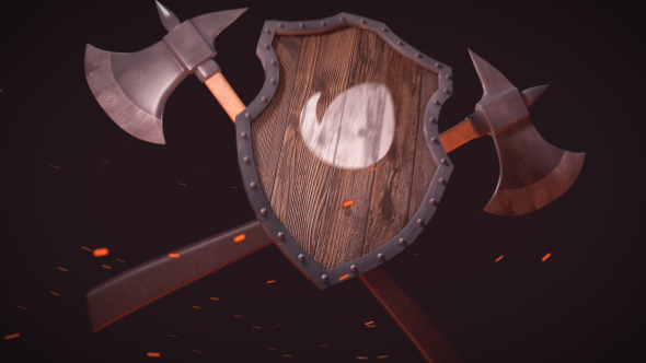 Medieval Logo Reveal