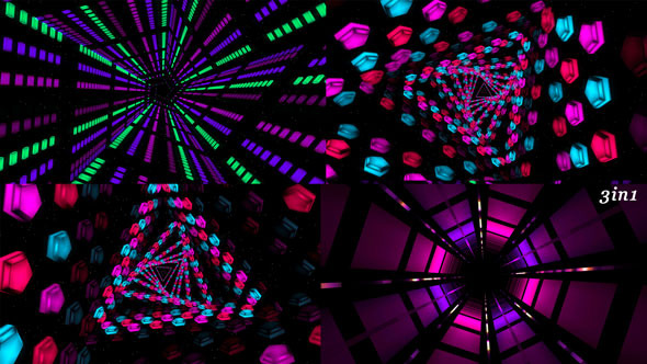 Tunnel Vj Spin 3-Pack