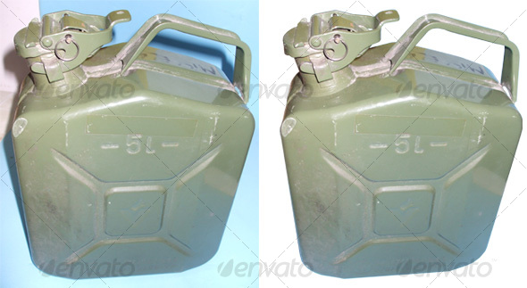 Jerry can - Industrial & Science Isolated Objects