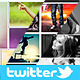 Twitter Photo Collage Header Bundle - GraphicRiver Item for Sale