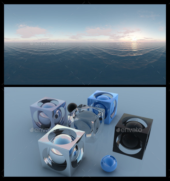 Ocean Dawn 4 - HDRI - 3DOcean Item for Sale