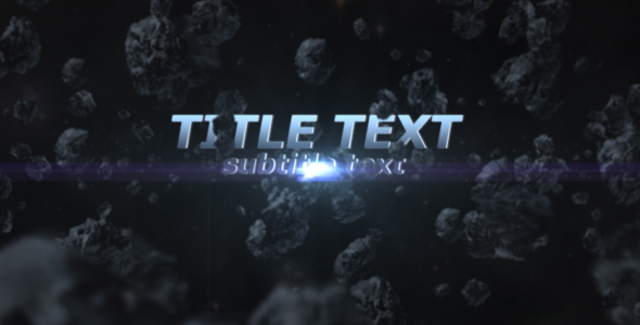 After Effects Project - VideoHive Armageddon style Titles 143578