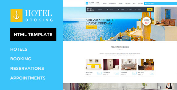 ThemeForest Hotel Booking HTML Template for Hotels 11650481