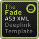 The Fade AS3 XML Website Template - ActiveDen Item for Sale