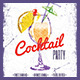 Cocktail Party Flyer vol.2 - GraphicRiver Item for Sale
