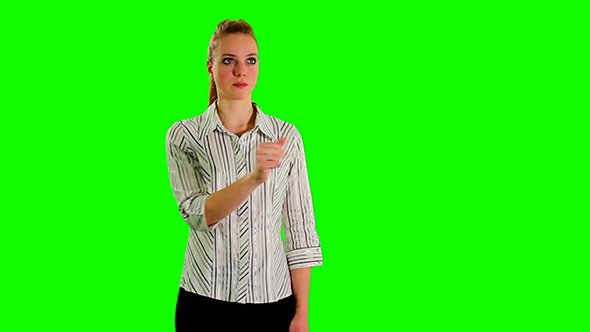 Greenscreen Lady 03