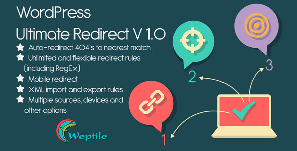 Wordpress ultimate redirect plugin jogjafile for Wp template redirect