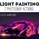 Light Painting Effect Photoshop Creator - GraphicRiver Item for Sale