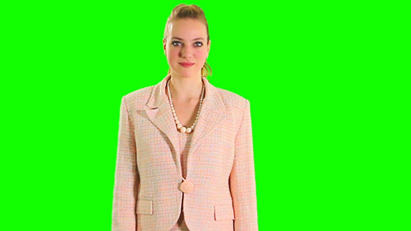 Greenscreen Lady 06