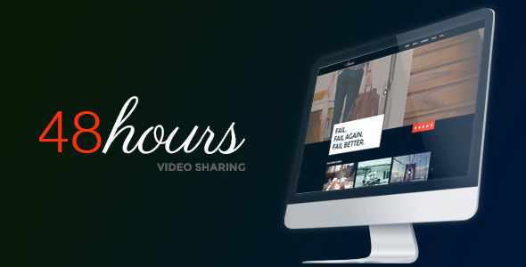 48Hours Video Sharing - a premium HTML Template
