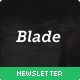 Blade - Modern E-mail Newsletter