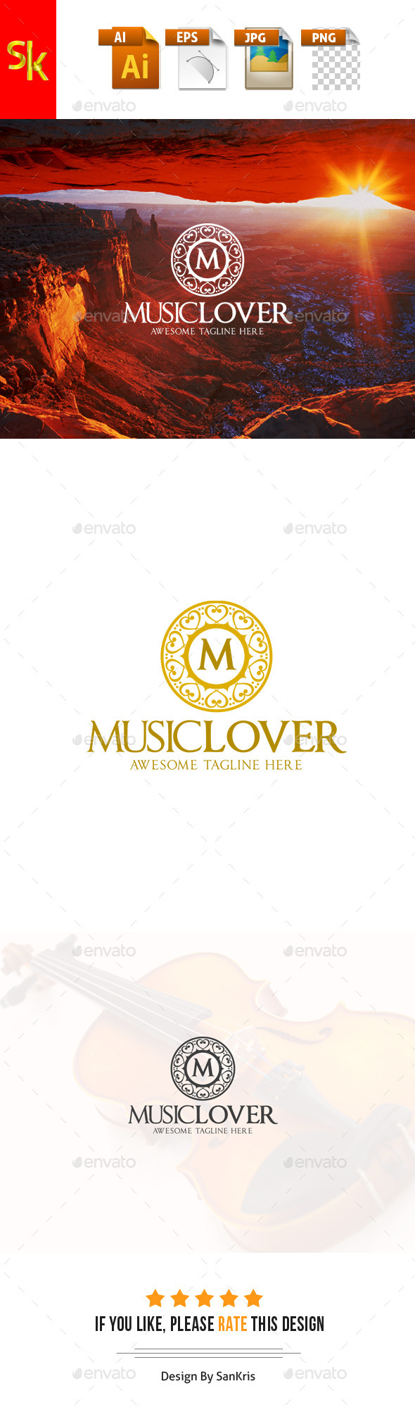Music Lover Logo