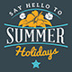 Summer Holiday Badges - GraphicRiver Item for Sale