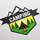 Camping Logo Template - GraphicRiver Item for Sale