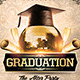 Graduation After Party Flyer Template