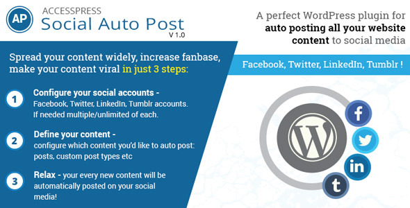CodeCanyon AccessPress Social Auto Post 11752265