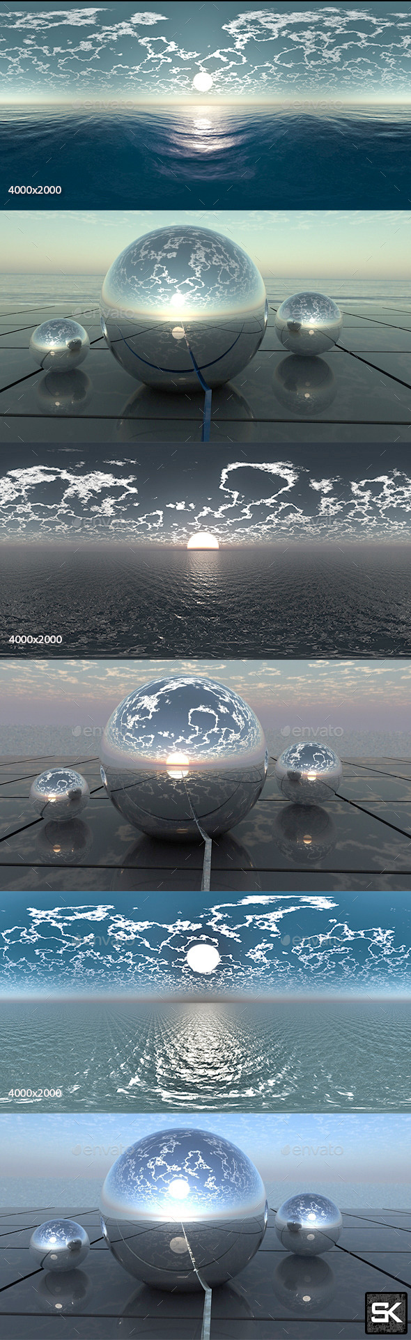 3DOcean HDRI Pack Sea 11753547
