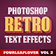 Retro PSD Text Effects vol.2