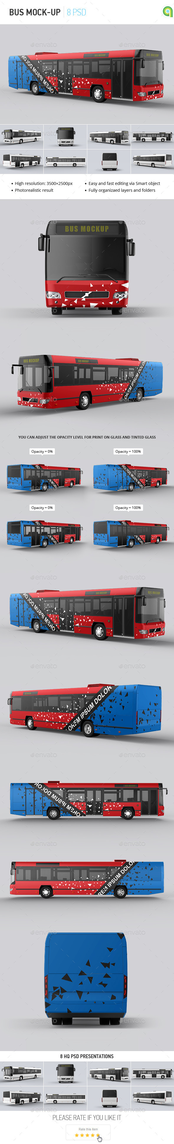 GraphicRiver Bus Mock-up 11756075