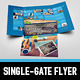 Metro Single-Gate Folder - GraphicRiver Item for Sale