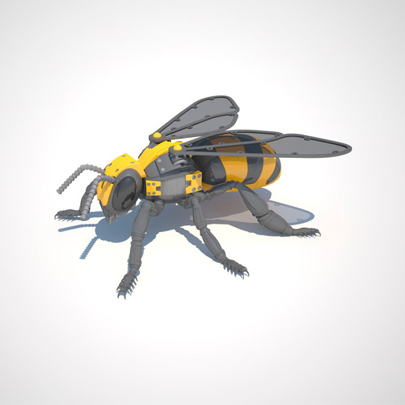 Robot Bee - 3DOcean Item for Sale