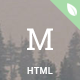 materialog - Material Design HTML5 Blog Template