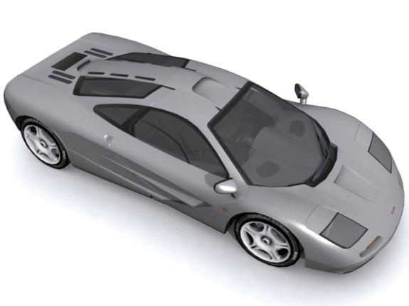 McLaren F1 - 3DOcean Item for Sale