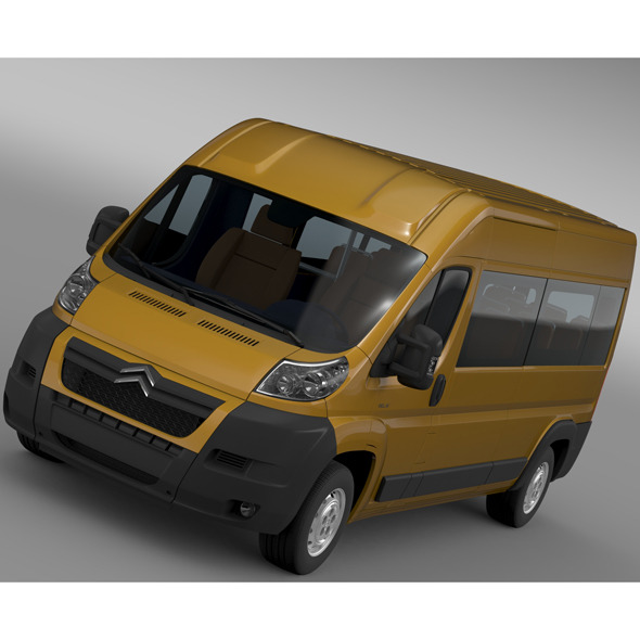 Citroen Relay Window Van L3H2 2006-2014 - 3DOcean Item for Sale