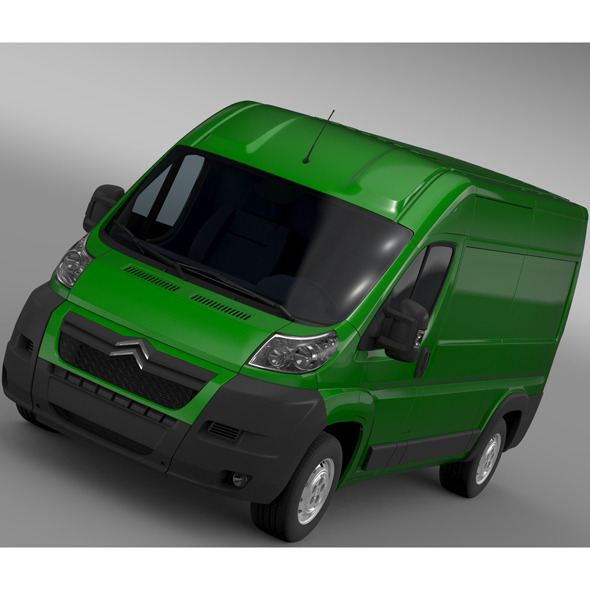 Citroen Relay Window Van L2H2 2006-2014 - 3DOcean Item for Sale