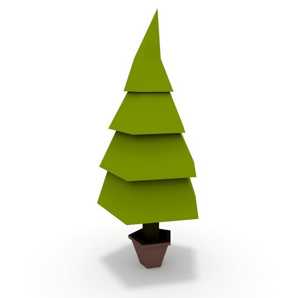3DOcean Low poly tree 11758466