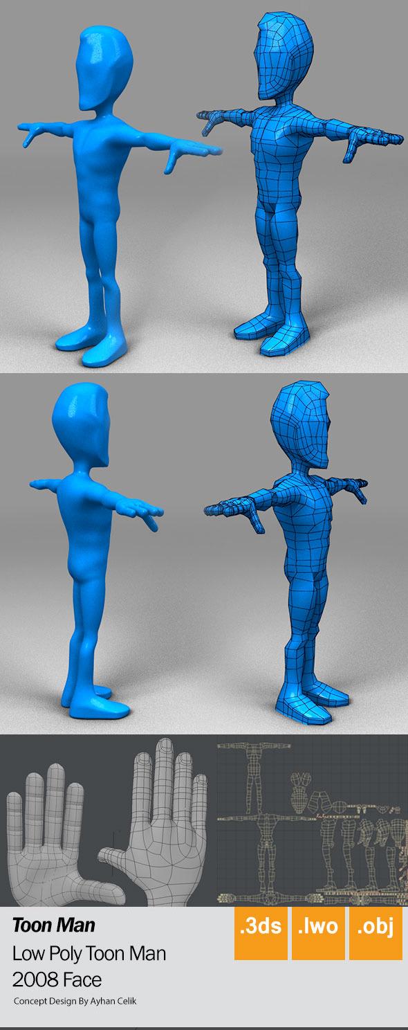 Low_Man - 3DOcean Item for Sale