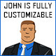 John - Fully Customizable
