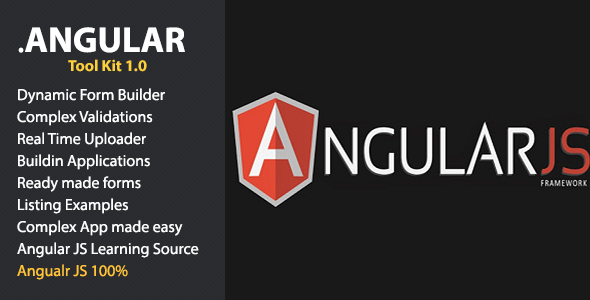 CodeCanyon jAngular Toolkit for Angular JS 11759407