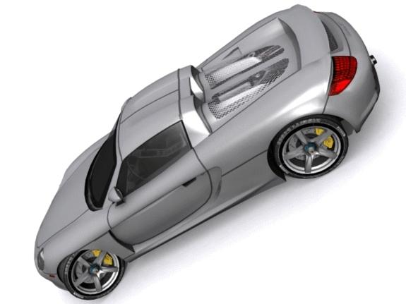 3DOcean Porsche Carrera GT 1181244