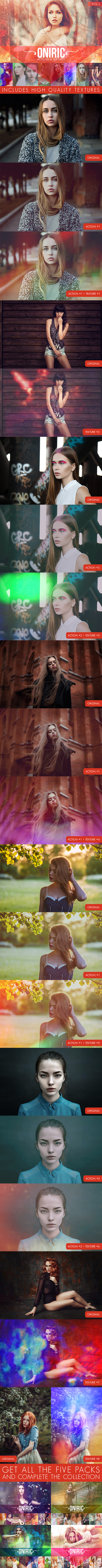 GraphicRiver Oniric Actions and Textures Vol.1 11760046