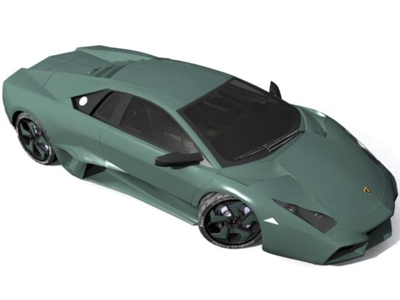 3DOcean Lamborghini Reventon 1181327