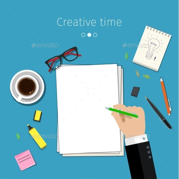 GraphicRiver Concept For Sketching Ideas 11760583
