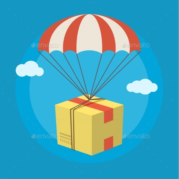 GraphicRiver Concept For Delivery Service 11760585
