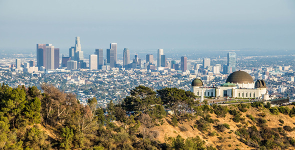Downtown Los Angeles and Griffith Observatory Day