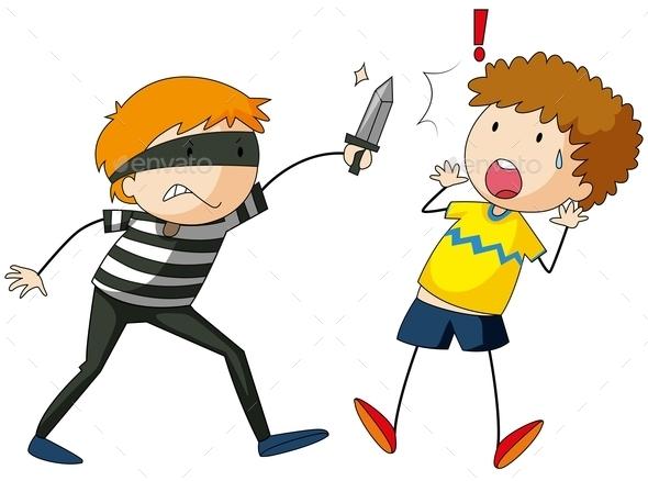 GraphicRiver Robber 11760787