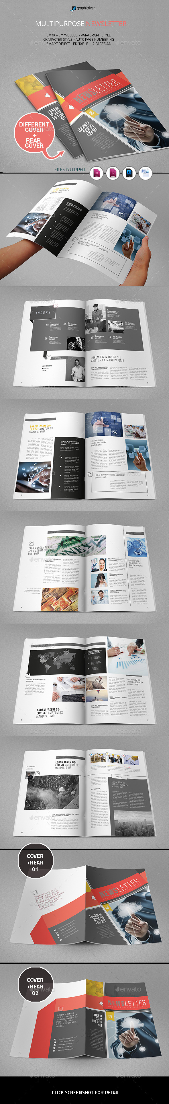 GraphicRiver Multipurpose Newsletter 11760850