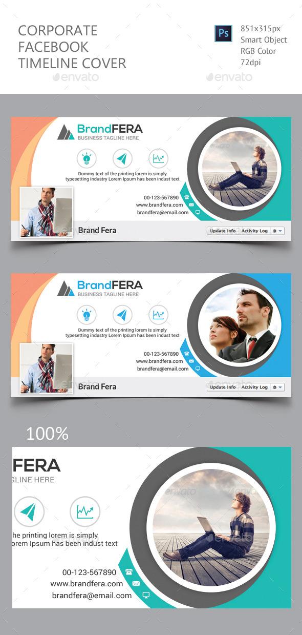 GraphicRiver Corporate Facebook Timeline Cover 11760875