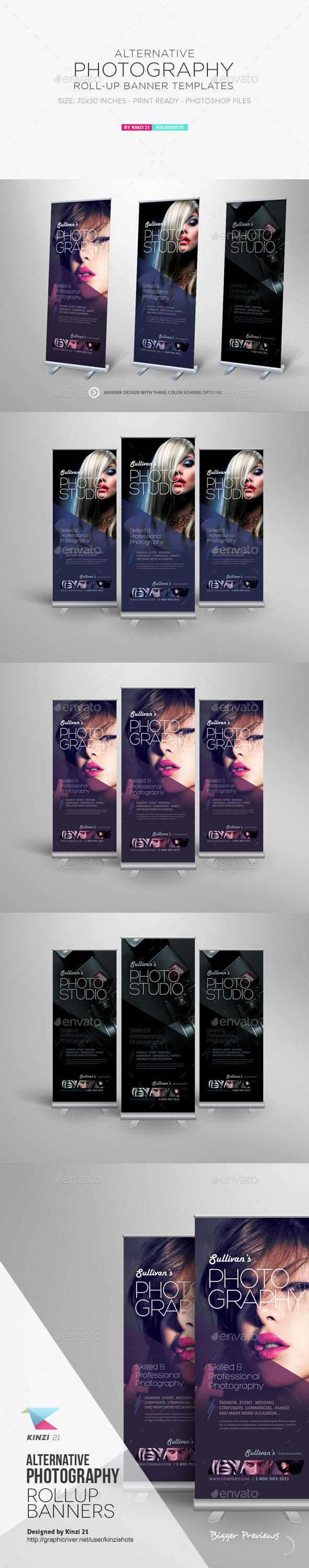 GraphicRiver Alternative Photography Roll-up Banners 11761218