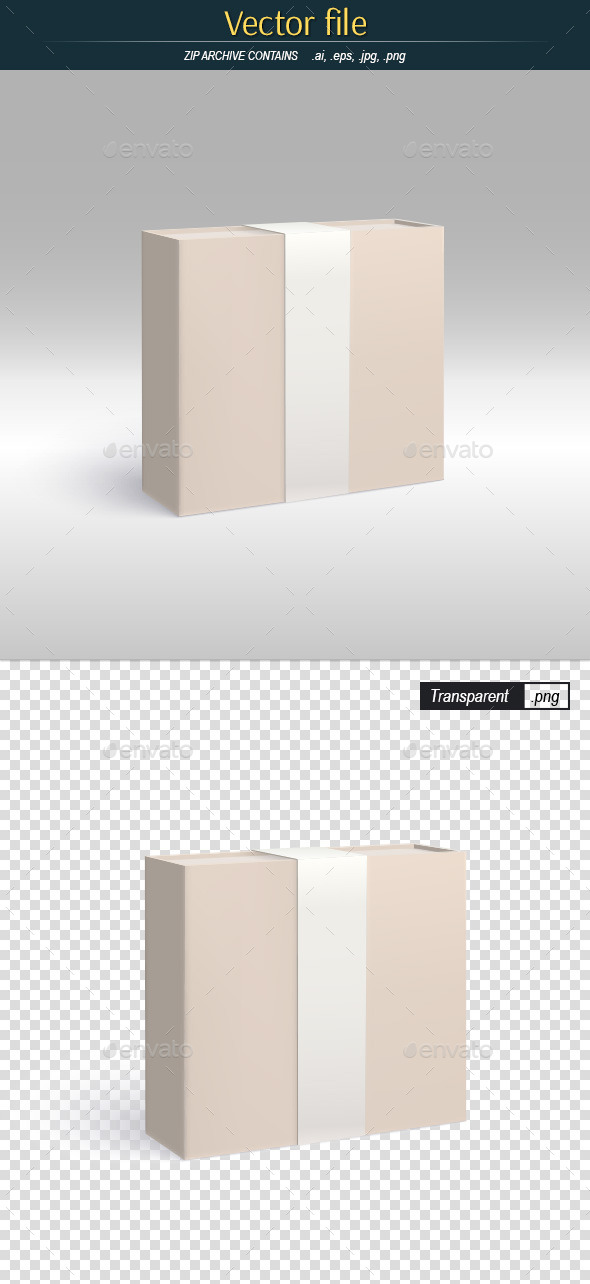 GraphicRiver Gift Packaging Template of Product Design 11761239