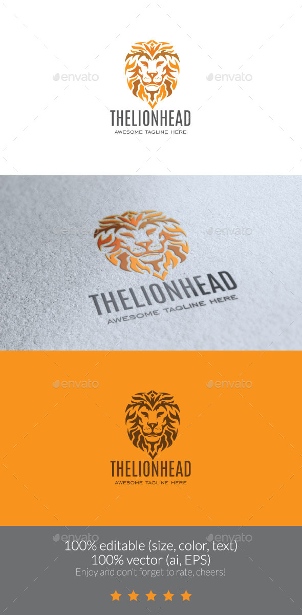 The Lion Head Logo