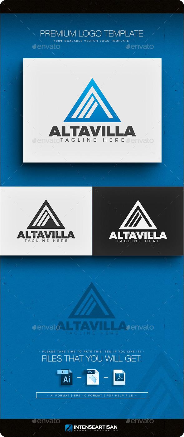 GraphicRiver Altavilla Letter A Logo 11762449